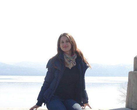 Анастасия Безмятежная на море