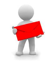 Парень с конвертом
