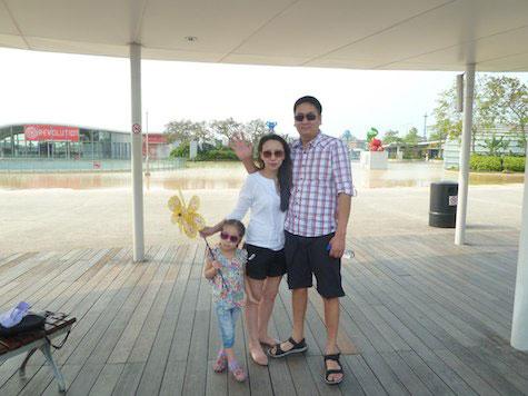 Бажигма Папуева вместе с семьей